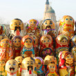 russian dolls — Stock Photo