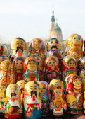 Russian dolls — Foto de Stock