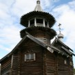 Old wooden church on Kizhi island — Stock Photo #6774008