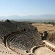 Amphitheatre of ancient Hierapolis - Stock Photo