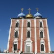 Uspensky cathedral in RyazRussia — Stock Photo #6910878
