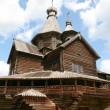 Old wooden church in Vitoslavlitsy — Stock Photo #6910990