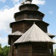 Old wooden church in Vitoslavlitsy — Stock Photo