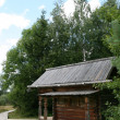 Old wooden church in Vitoslavlitsy — Stock Photo #6910993