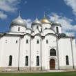 Saint Sophia cathedral in Great Novgorod — Stock Photo