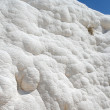 White rocks and travertines of Pamukkale Turkey — Stok fotoğraf