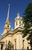 Peter and Paul cathedral in Saint Petersburg Russia — Stock Photo