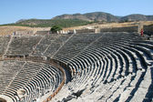 Amphitheatre of ancient Hierapolis — Stock Photo