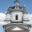 Stock Photo: Bell tower of women monastery in Maloyaroslavets