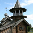 Old wooden church on Kizhi island — Stock Photo #6985330