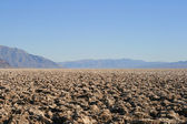Devils Golf Course Death Valley California — Stock Photo
