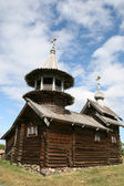 Old wooden church on Kizhi island Russia — Stockfoto