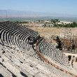 Amphitheatre of ancient Hierapolis — Stock Photo