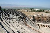 Anfiteatro da antiga hierapolis — Fotografia Stock
