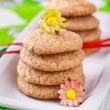 Gingerbread cookies - Stock Photo