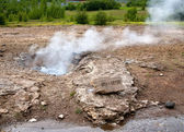 Small geyser — Stock Photo