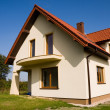 Stock Photo: Single family small house