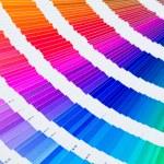Pantone color sampler catalogue — Stock Photo
