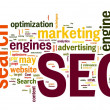 SEO in word cloud — Stock Photo #7301653