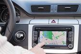 Modern otomobil gps navigasyon — Stok fotoğraf