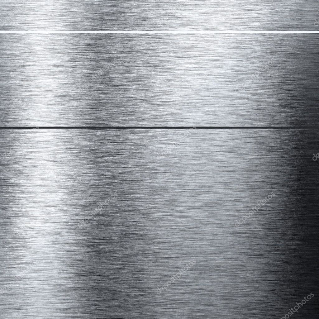 Aluminum metal background with reflections useful for background — Stock Photo #7301465