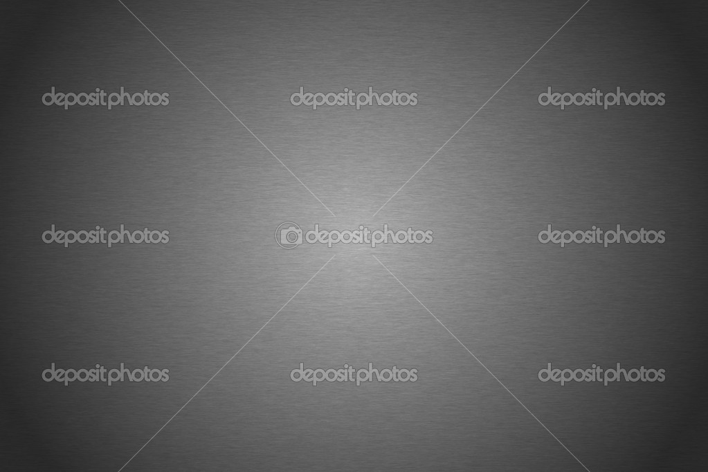Brushed silver metallic plate useful for backgrounds  Foto Stock #7301487