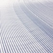 Snow pattern on ski slope — Stock Photo