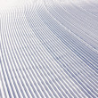 Snow pattern on ski slope — Stock Photo #7677680