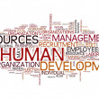 Human resources development — Foto de Stock