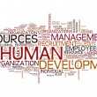 Human resources development — Stock Photo