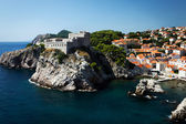 Lovrjenac fortress, Dubrovnik (Ragusa). — Stock Photo