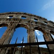 Colosseum Detail — Stockfoto #7516384