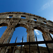 Stock Photo: Colosseum Detail