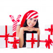 Girl with presents — Stock Photo #6771037