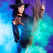 Sexy witch - Foto Stock