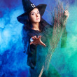 Sexy witch — Stock Photo