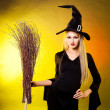 Stock Photo: Sexy witch