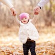 Stock Photo: Baby in the park