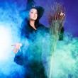 Sexy witch — Stock Photo