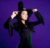 セクシーな魔女 — ストック写真