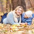mother and son — Stock Photo #7379124