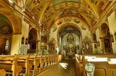 Zlaté Hory - farní kostel Nanebevzetí Panny Marie. — Stock Photo
