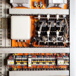 Stock Photo: Electrical control panel