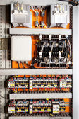 Electrical control panel — Stock Photo