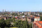 Shipyard and port in Gdansk, Poland — Stock Photo