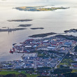 Port Tananger seen from above — Stock Photo #6924825