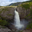 Manafossen waterfall — Stock Photo #6924863
