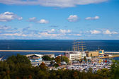 Panoramic view of Gdynia — Stock Photo
