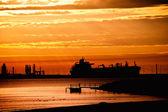 Contouring Tanker — Stock Photo
