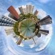 Stock Photo: Urbanization of planet